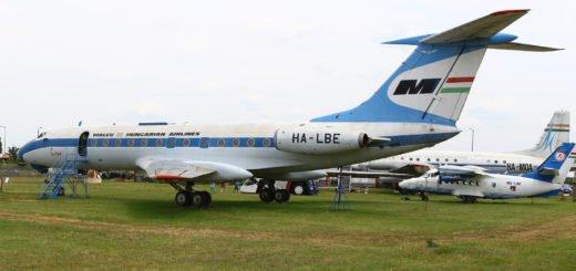 Malev Tu-134 HA-LBE