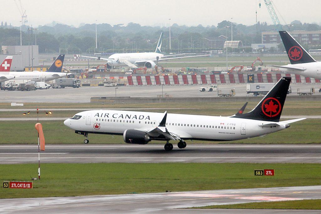 air canada 737 max