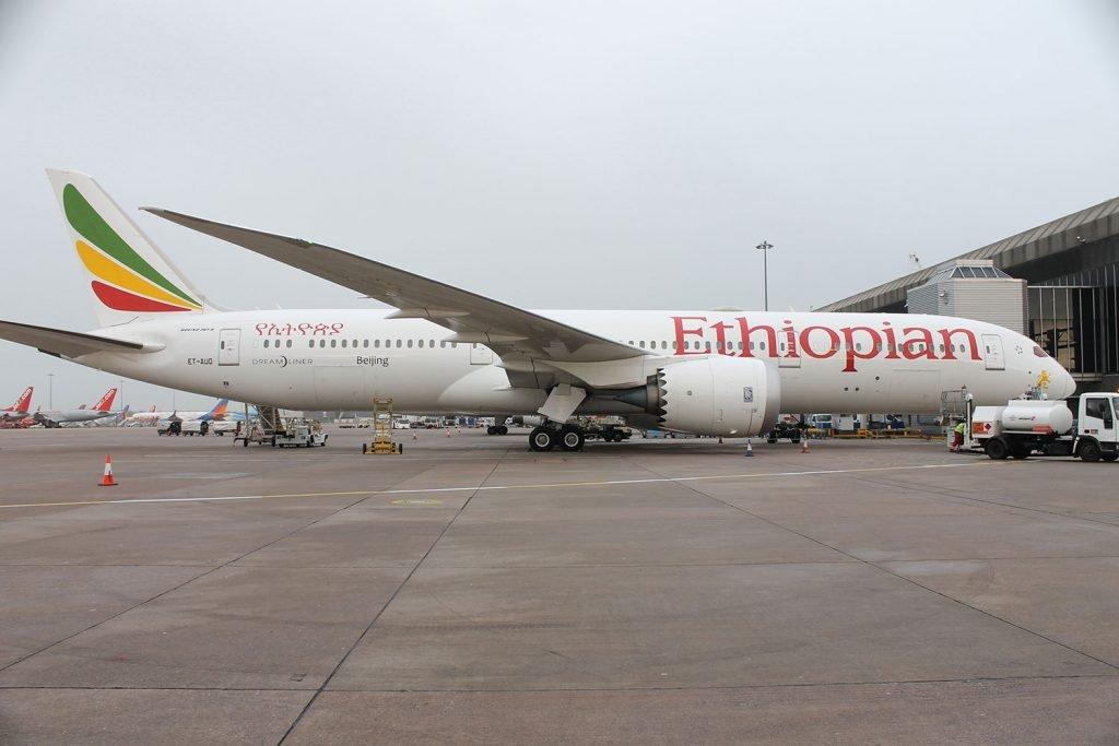 ET-AUO 787-9 Ethiopian