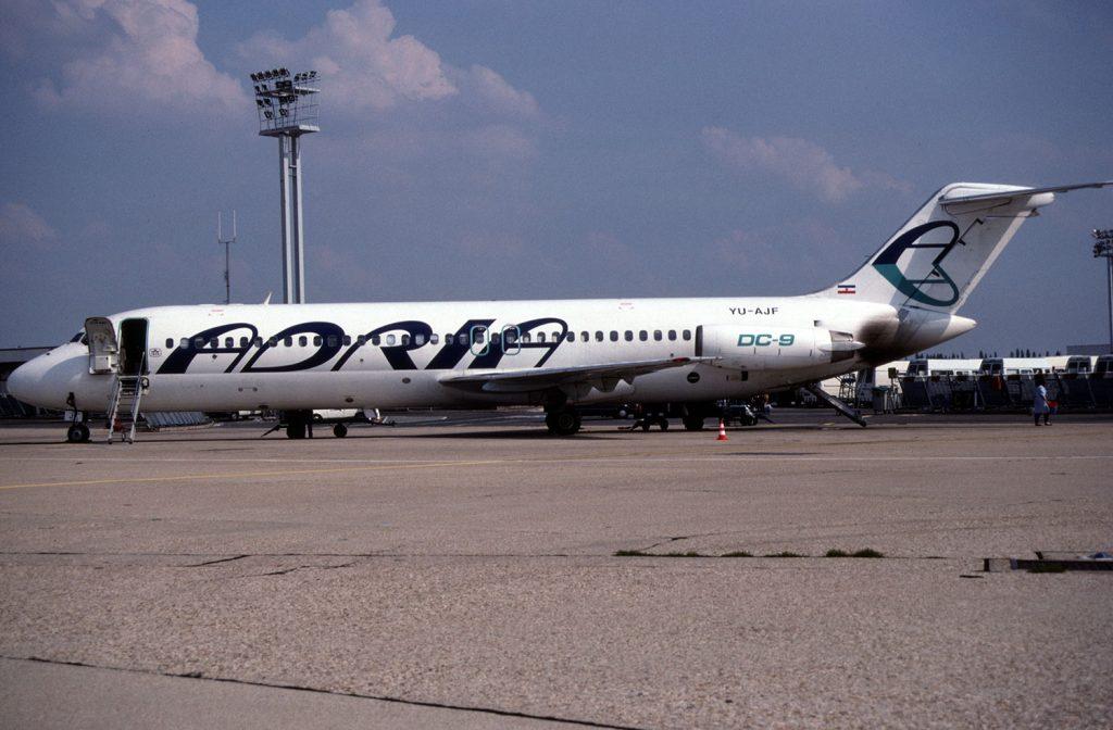 adria airways dc-9