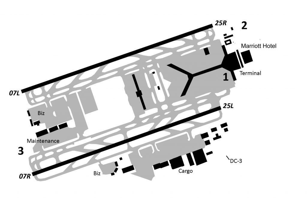 hong kong airport map