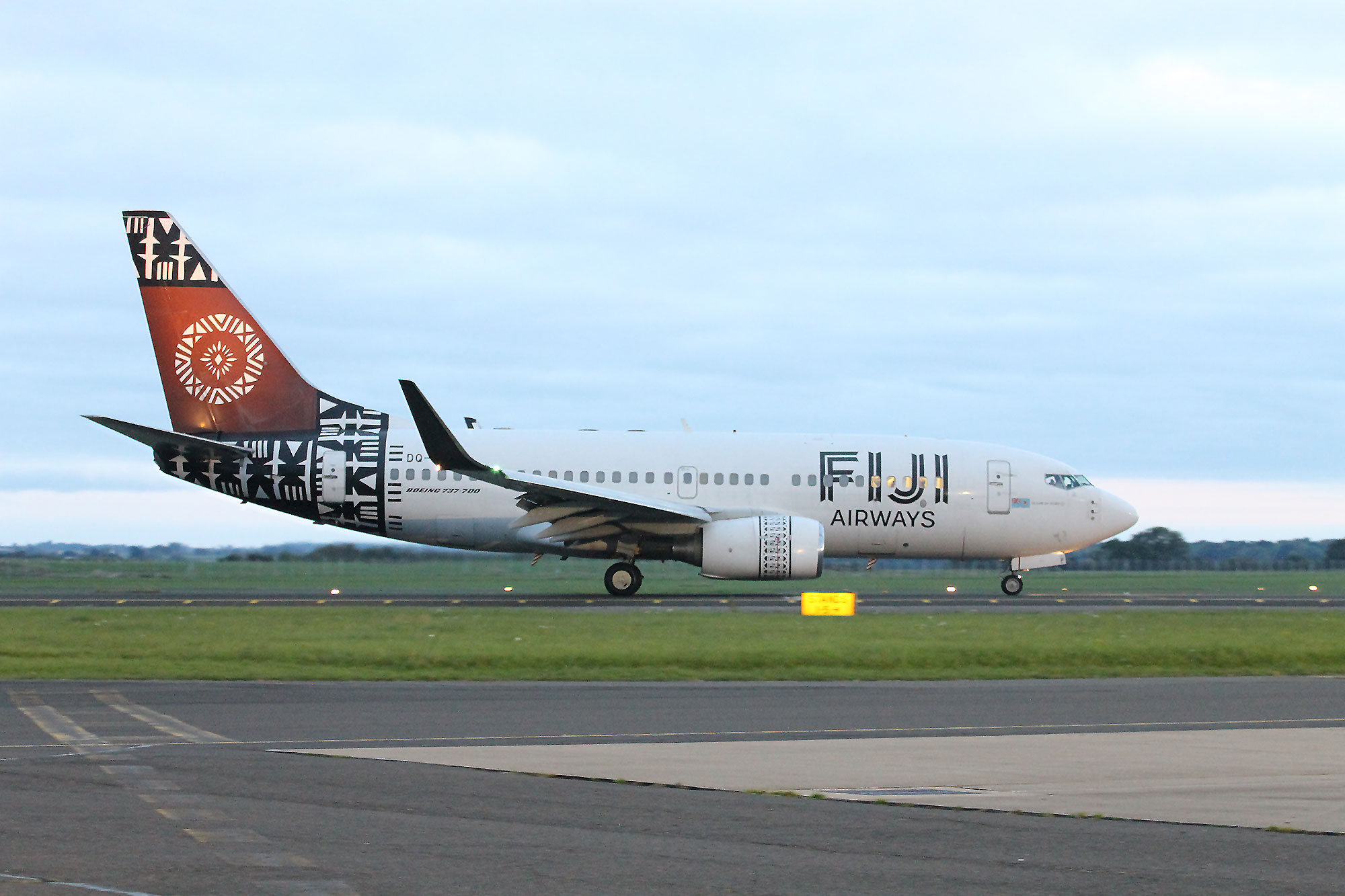 Fiji Airways Retires Its 737-700 to Northern England - Airport Spotting